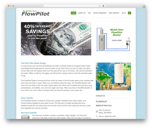 Theme WordPress System - flowpilot.com