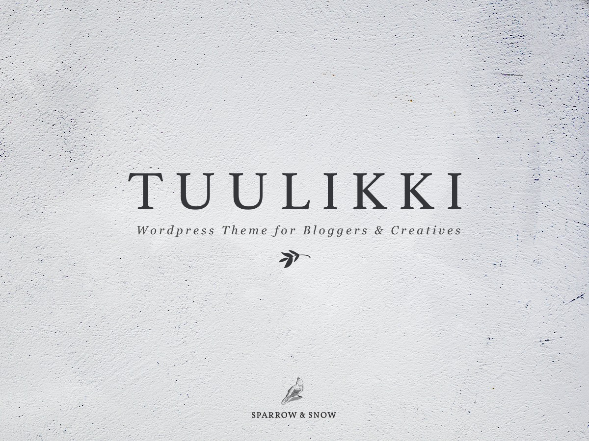 Tuulikki WordPress shop theme