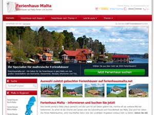 WordPress template ferienhausmalta.net