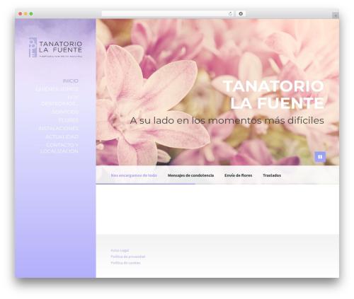 WordPress theme BeautySpot - funerariasanpedronavarra.com