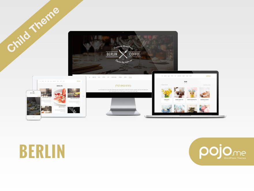 WordPress theme Berlin Child