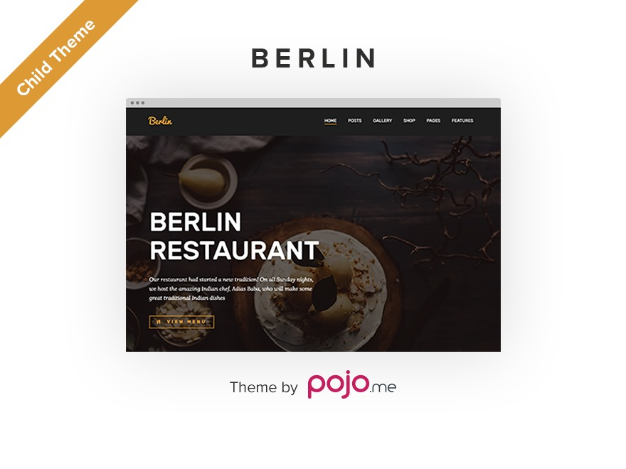 WordPress theme Berlin Child