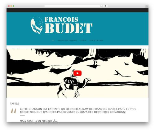 WordPress theme Cosmetro - francoisbudet.fr