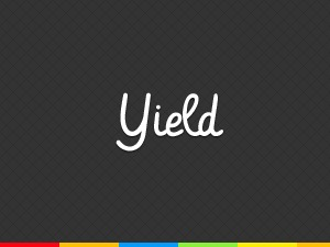 YIELD WordPress website template