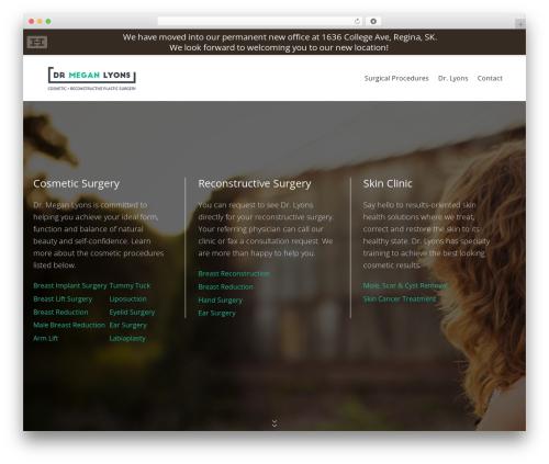 WordPress hmenu plugin - drmeganlyons.ca