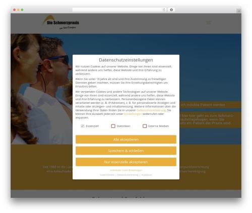 Free WordPress Google Analytics Opt-Out plugin - die-schmerzpraxis.de