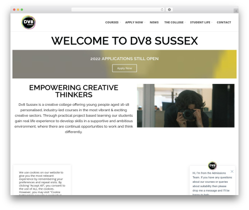 () Bouncy WordPress gaming theme - dv8sussex.com