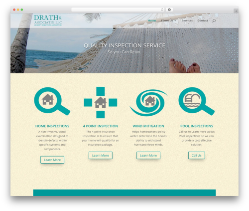 Divi business WordPress theme - drathandassociates.com