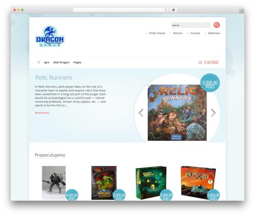 Shoppica WordPress shopping theme - dragon.rs