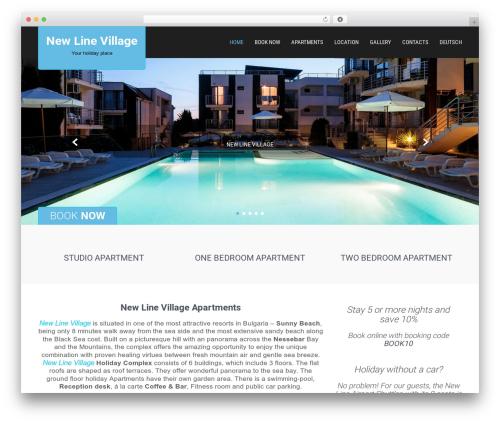 SKT Hotel Lite WordPress website template - dreamproperties.eu