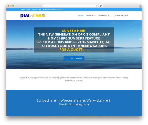 Theme WordPress Divi - dialatanmidlands.co.uk