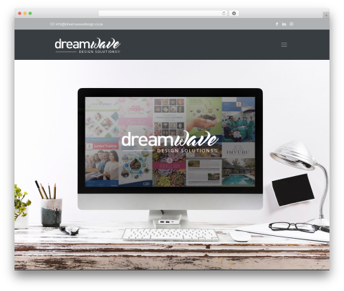 Best WordPress theme Betheme - dreamwavedesign.co.za