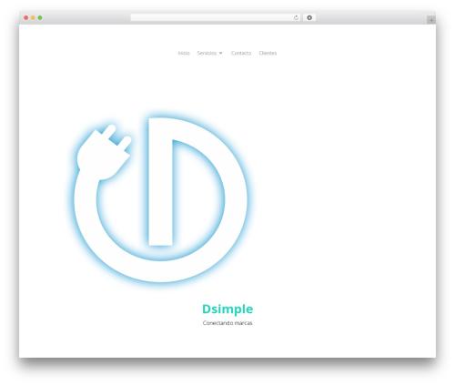 Divi WordPress website template - dsimple.com