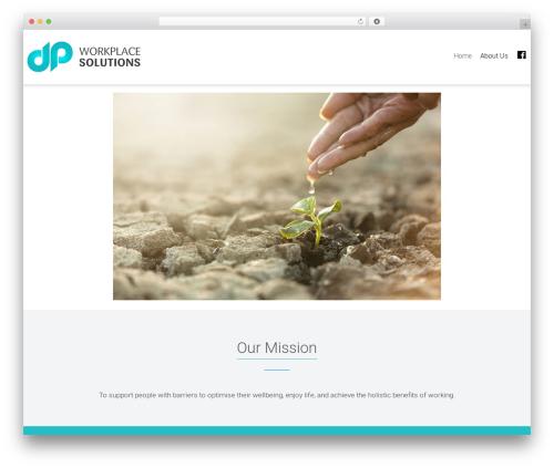 Dzen company WordPress theme - dpworkplacesolutions.com.au
