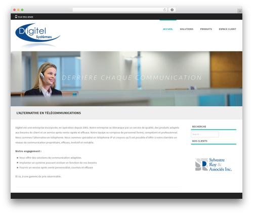 Formation template WordPress free - digitelsystemes.com