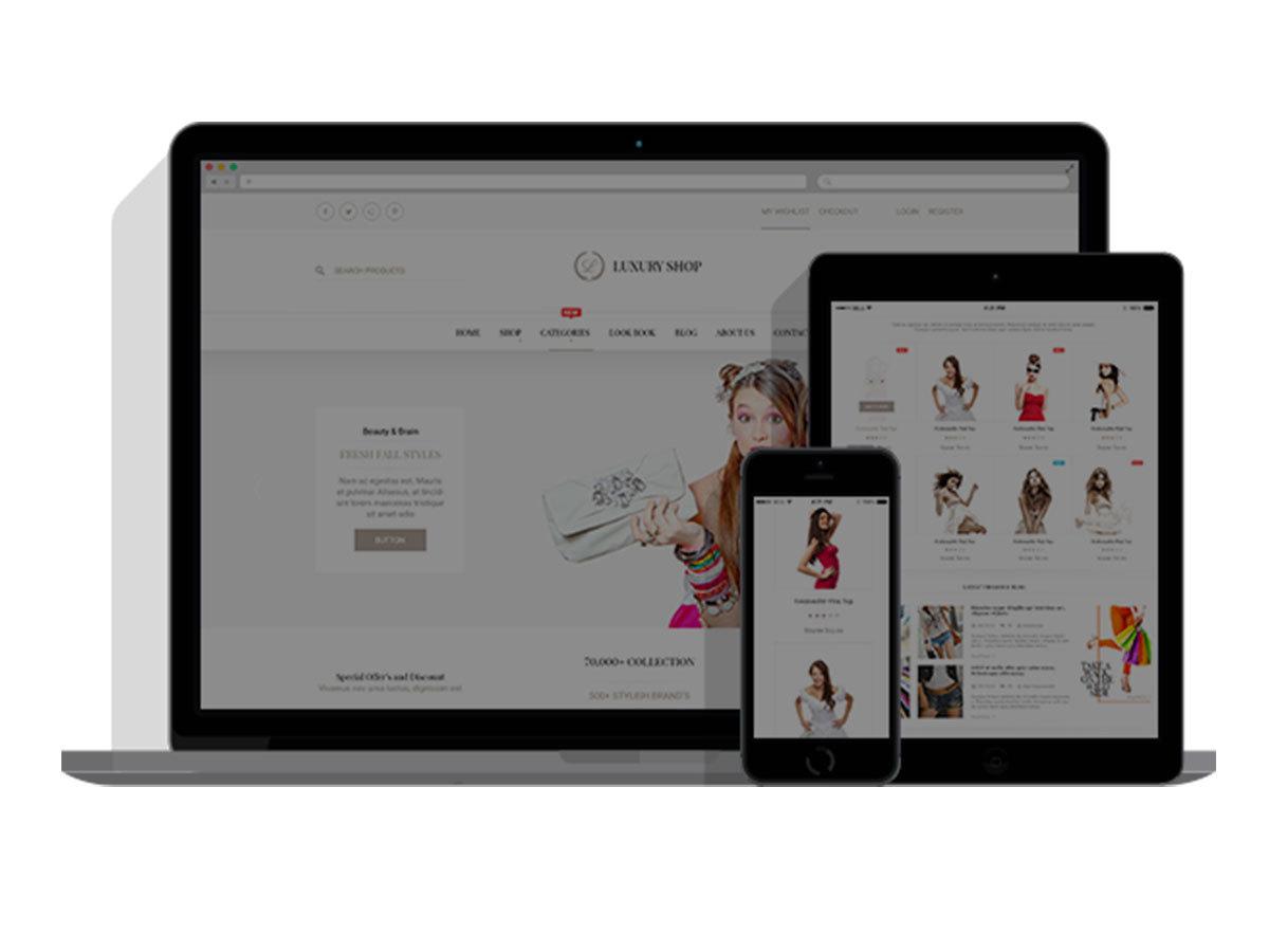 Luxury Child WordPress shop theme