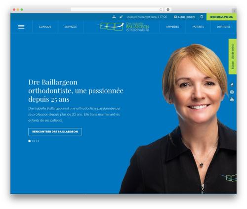 WordPress wp-plogg-website-customizer plugin - drebaillargeon.com