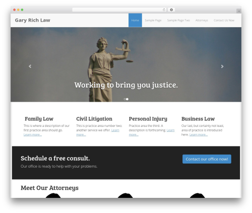 The Modern Law Firm business WordPress theme - dronephotographyservices.com