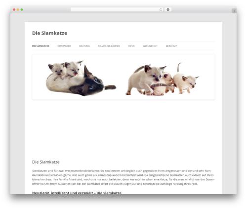 Twenty Twelve theme WordPress free - die-siamkatze.com