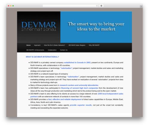 WordPress template Twenty Eleven - devmarinternational.com