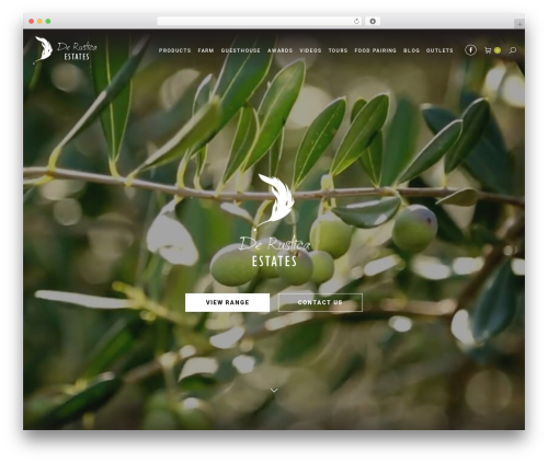 WordPress theme The7 - derustica.co.za