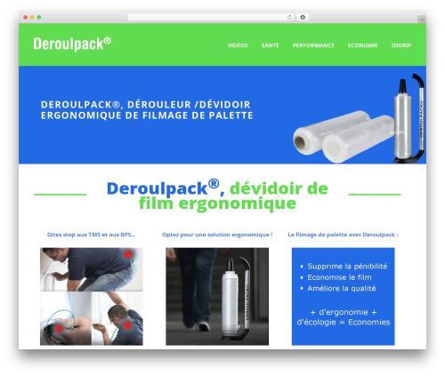 Jupiter WordPress theme - deroulpack.fr