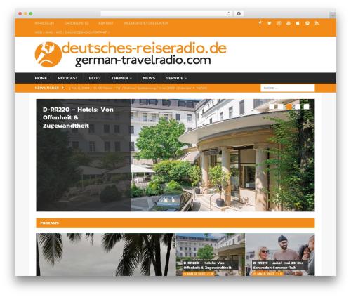 MH Magazine WordPress magazine theme - deutsches-reiseradio.com