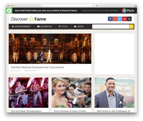 SociallyViral by MyThemeShop WordPress magazine theme - discoverfame.com