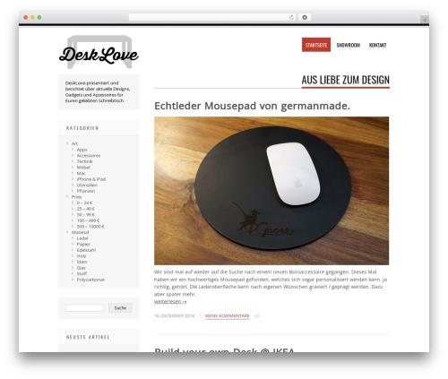 Tesla free website theme - desklove.de