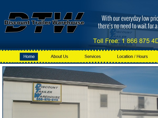 Theme WordPress Discount Trailer Warehouse Inc