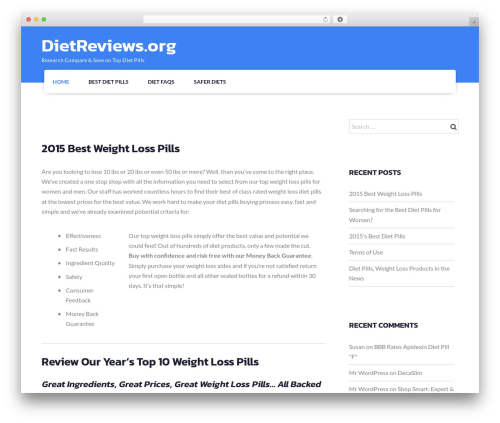 WP template Fetch - dietreviews.org