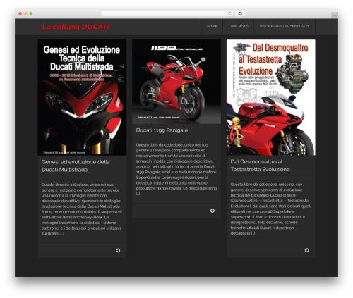 Best WordPress theme Visual - ducati1199panigale.it