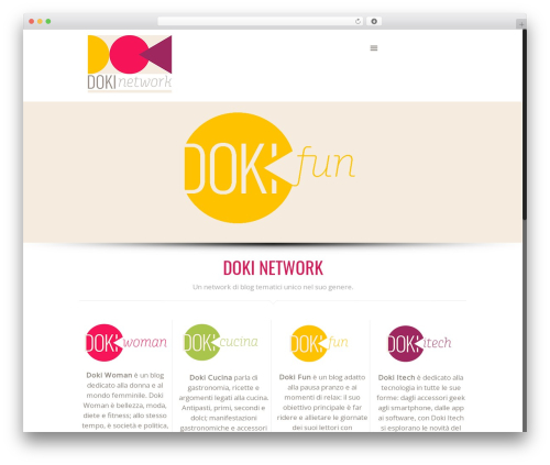 Betheme WordPress blog template - doki.it