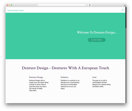 Betheme WordPress theme - denturesportlandoregon.com