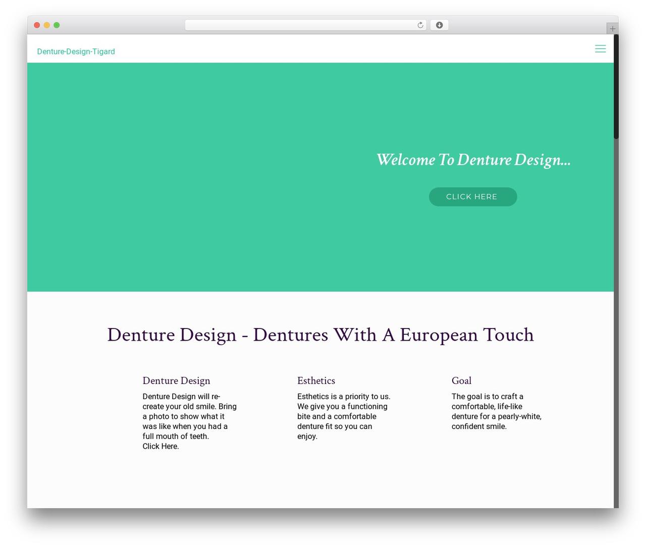 Betheme WordPress theme - denturesportlandoregon.com