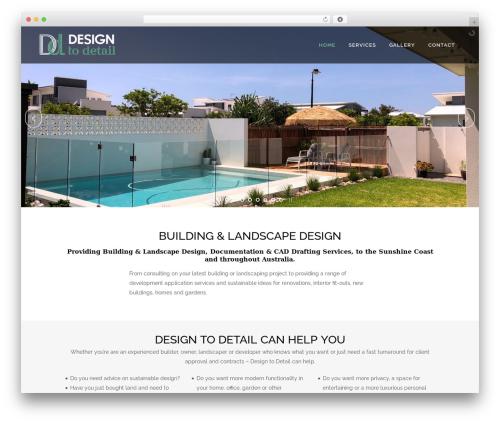 Bridge garden WordPress theme - designtodetail.com.au