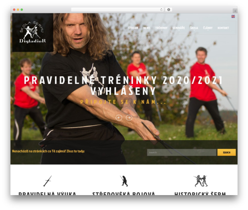 cherry WordPress theme - digladior.cz