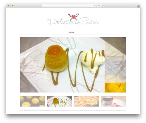Real Photography Responsive theme WordPress - deliciousbitesuk.co.uk