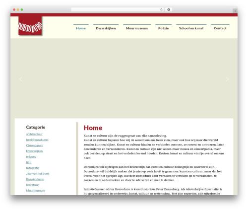 Theme WordPress Dynamik-Gen - dorsoduro.nl