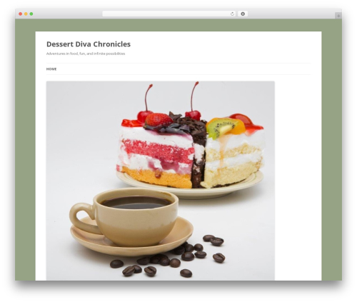 Twenty Twelve WordPress theme download - dessertdivachronicles.com