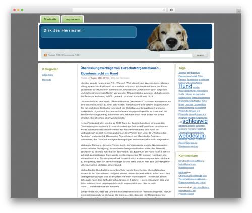 Digg 3 Columns WordPress theme by Small Potato - page 2