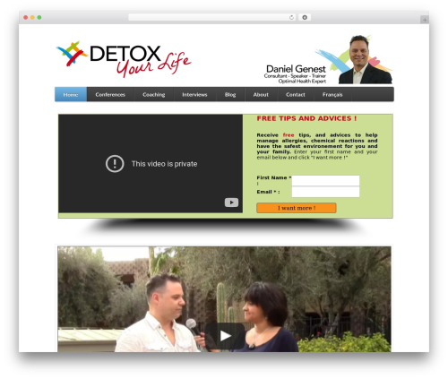 WordPress theme Function - detoxyourlife.ca/en