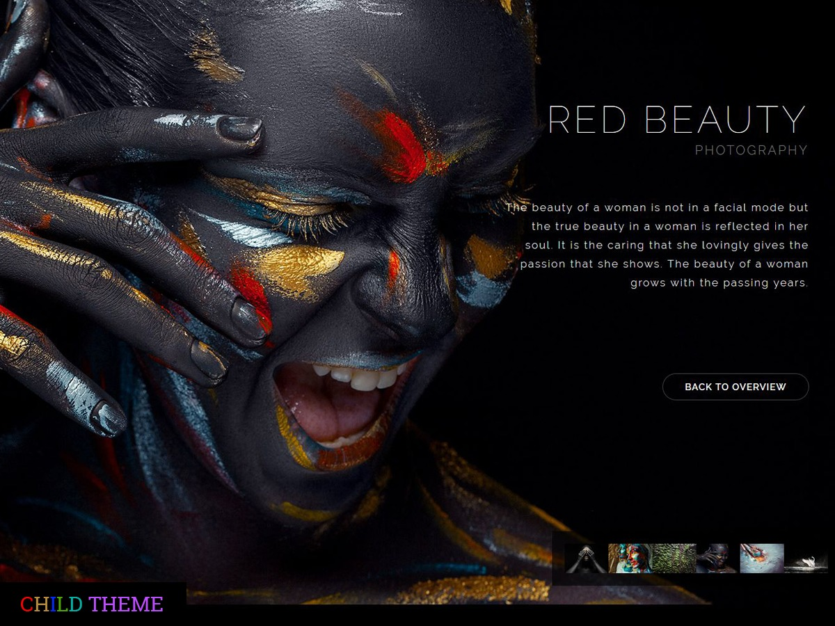 WordPress theme RedArt Child