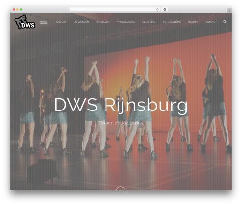 Jupiter top WordPress theme - dwsrijnsburg.nl