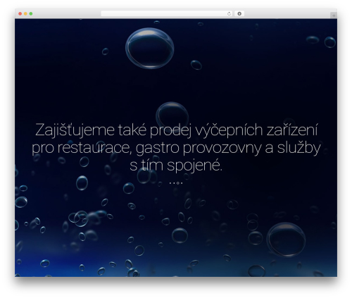 Leafage premium WordPress theme - dryspex.cz