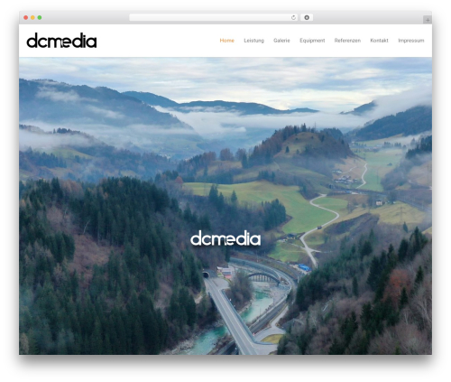 NineZeroSeven WordPress website template - dc-media.eu