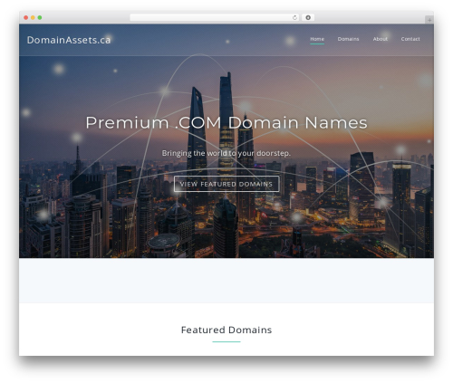 Parallel WordPress theme download - domainassets.ca