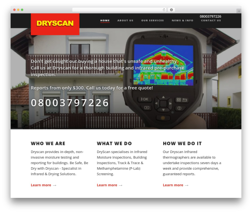 Suite WP template - dryscan.co.nz