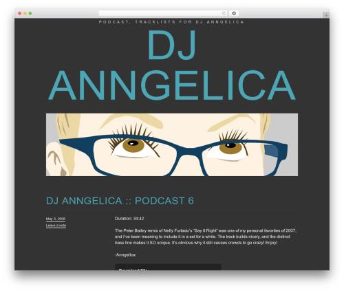 Trvl WordPress theme - djangelica.com