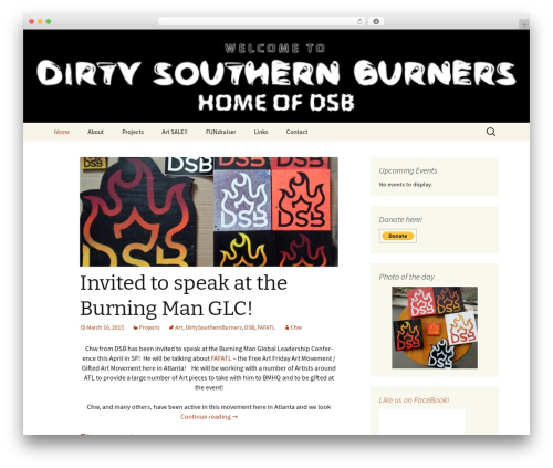 Twenty Thirteen best WordPress theme - dirtysouthernburners.com